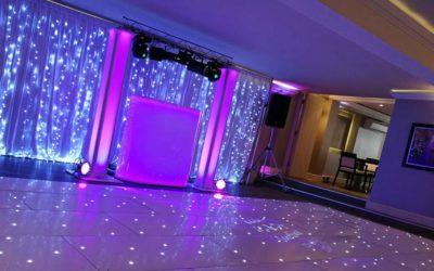 Kev & Emma Walker, Highcliffe Marriott Hotel, Bournemouth