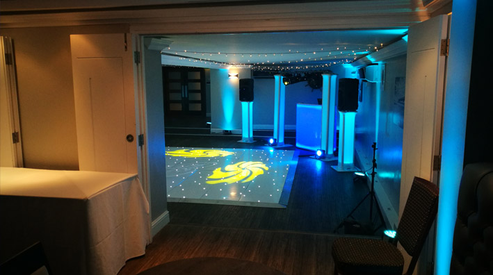 Awesome Wedding DJ Disco Hire Christchurch Harbour Hotel