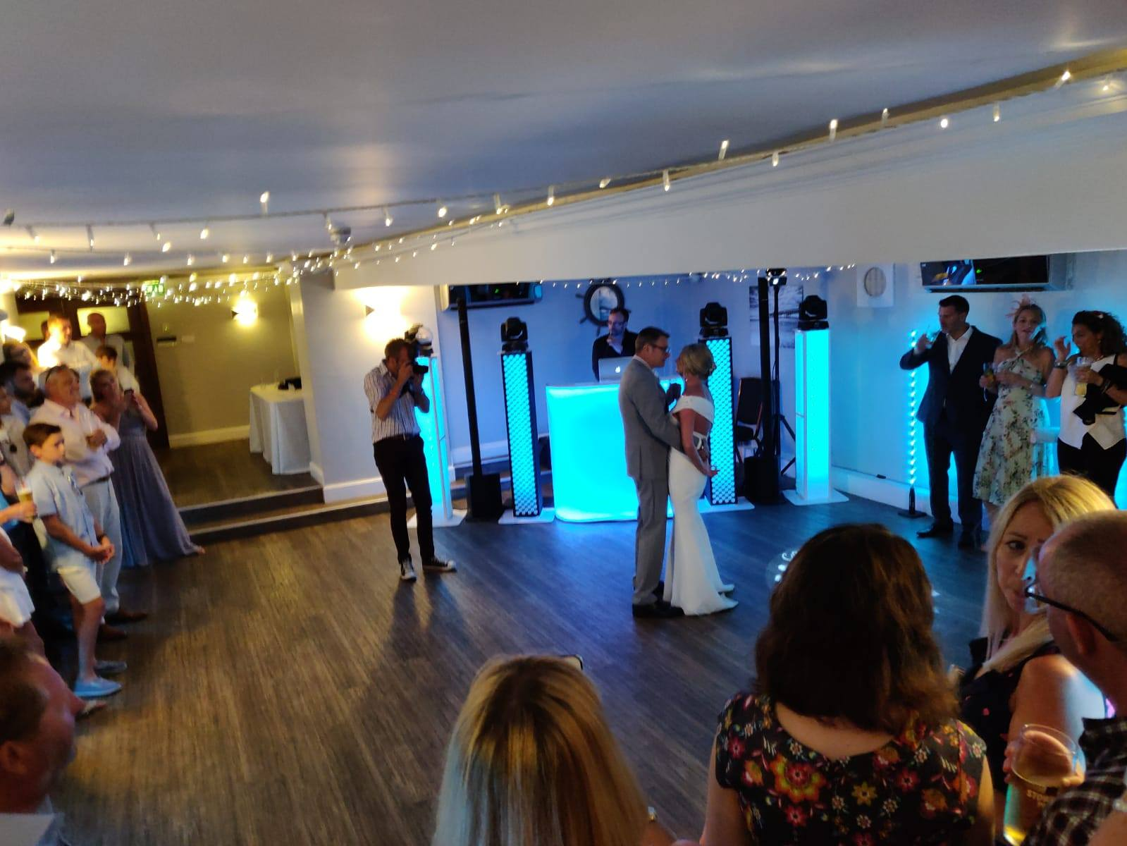 Wedding DJ Disco Christchurch Harbour Hotel Dorset
