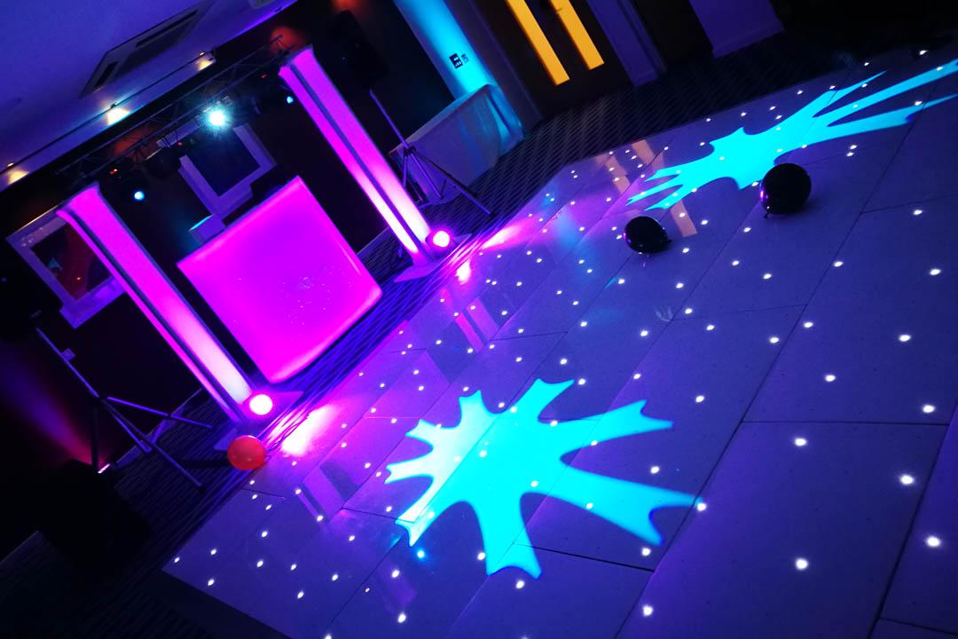 LED Dance Floor Dancefloor Sparkley Hire Dorset Hampshire