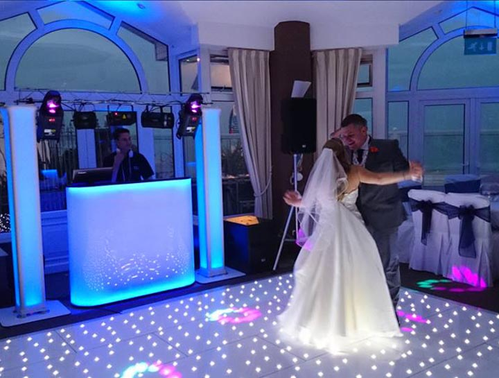 Wedding DJ Mobile Disco Sandbanks Hotel Poole Dorset
