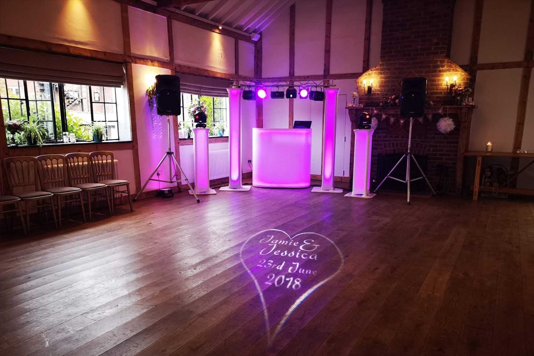Wedding DJ Disco Burley Manor Hotel New Forest