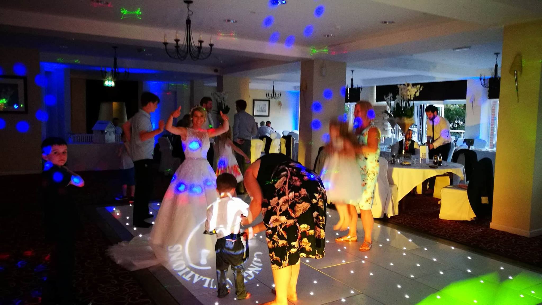 Wedding DJ Disco The Chine Hotel Bournemouth
