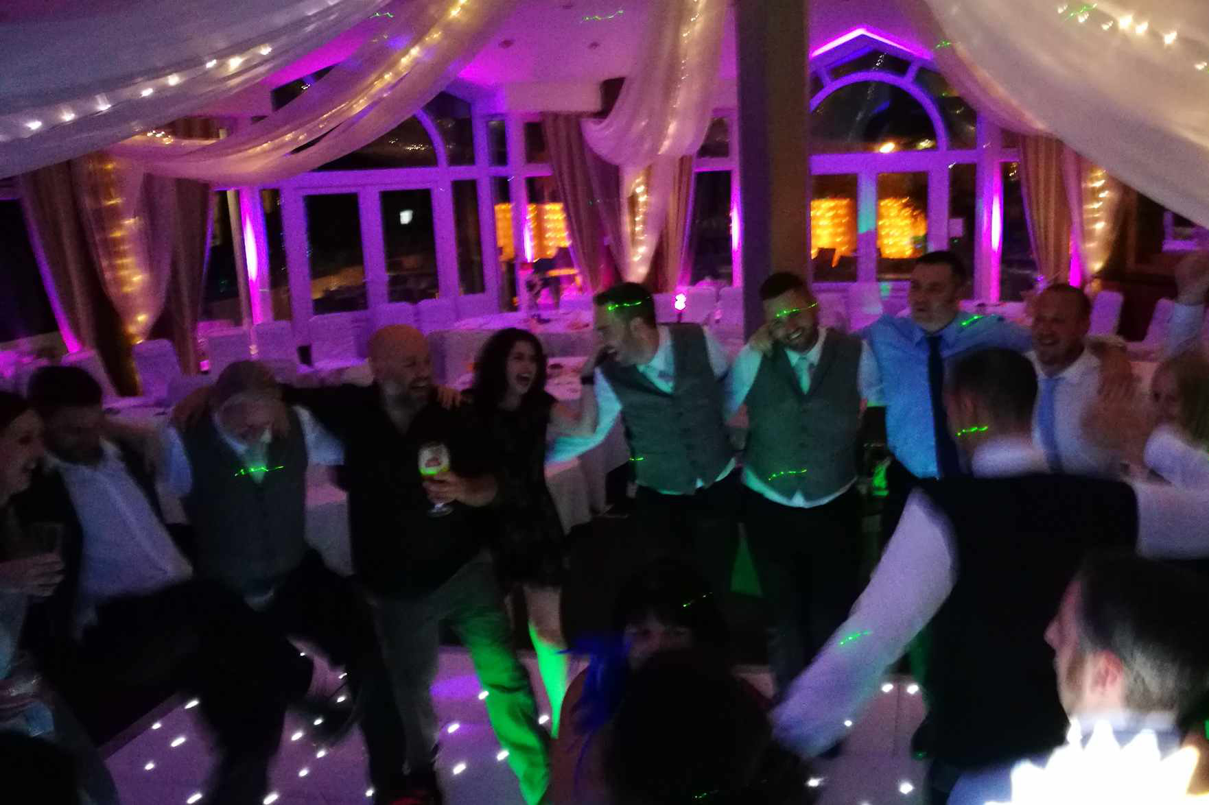 Wedding DJ Disco The Sandbanks Hotel